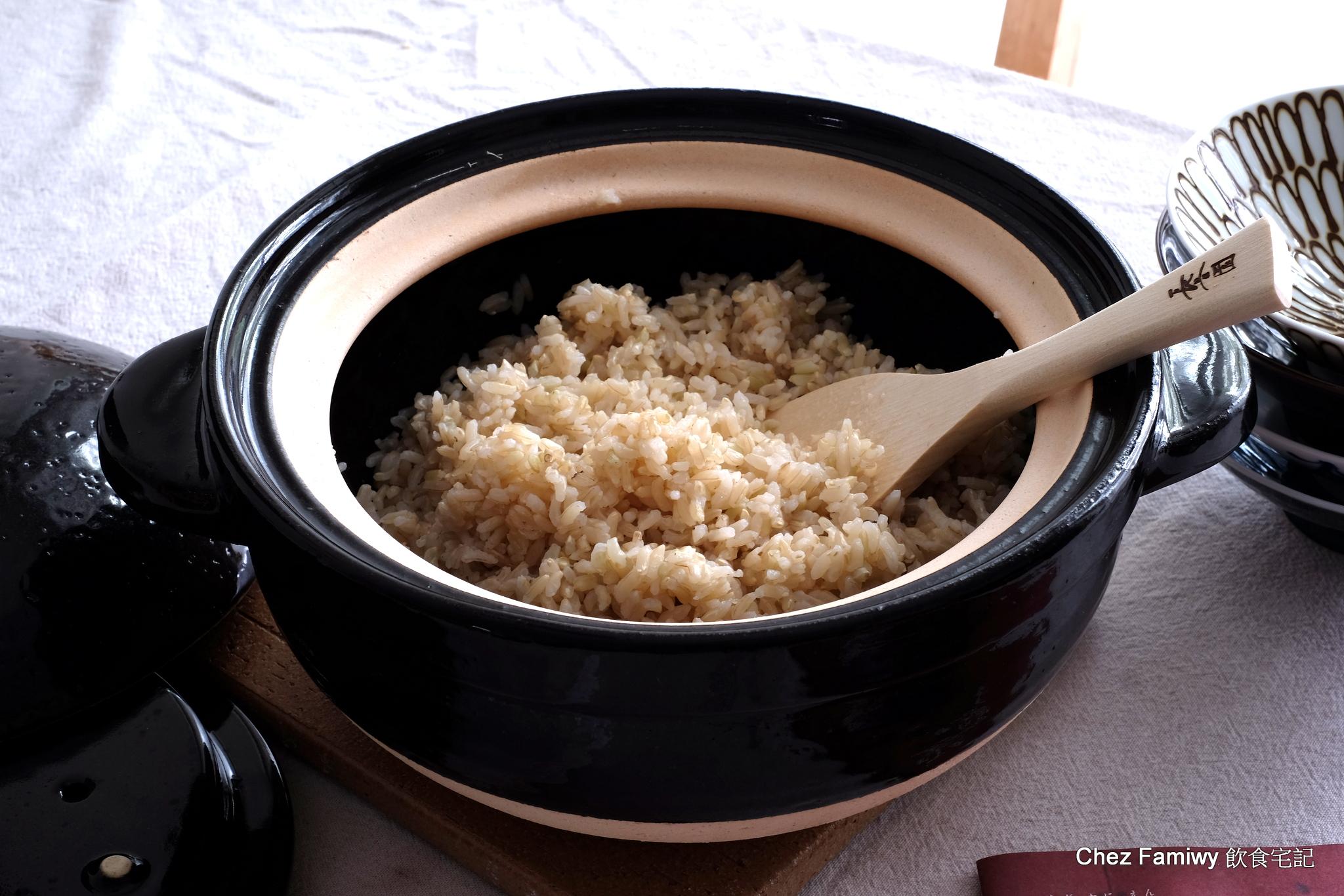 廚房新玩具—長谷園伊賀燒炊飯鍋